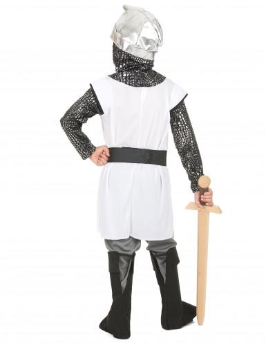 Ridder kruistocht kostuum voor jongens-2