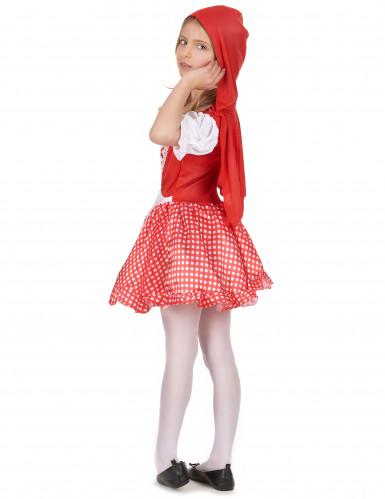 Roodkapje sprookjes outfit voor meisjes-2