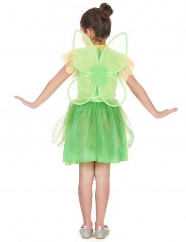 Groene feeën kostuum voor meisjes-2