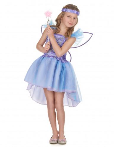 Paarse feeën kostuum voor meisjes