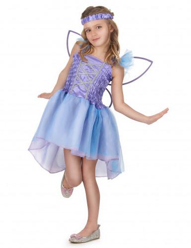 Paarse feeën kostuum voor meisjes-1