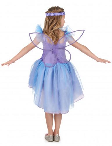 Paarse feeën kostuum voor meisjes-2