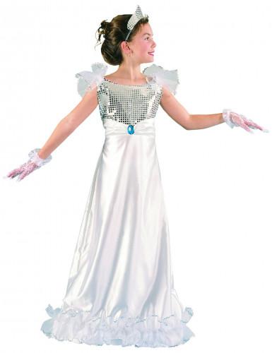 Wit prinsessen kostuum voor meisjes