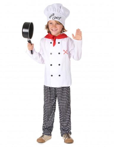 Big chef kok kostuum voor kinderen-1