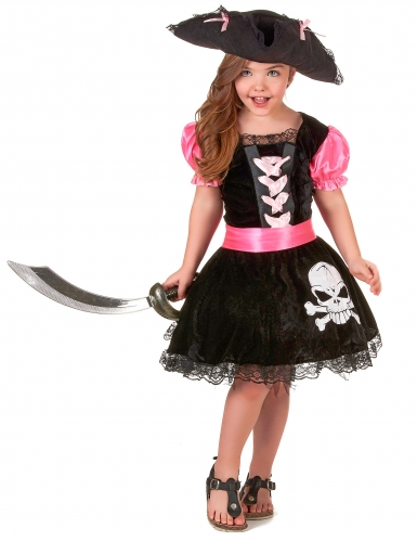 Girly piraten outfit voor meisjes
