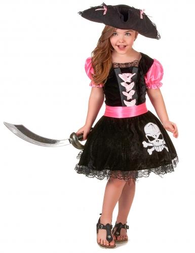 Girly piraten outfit voor meisjes