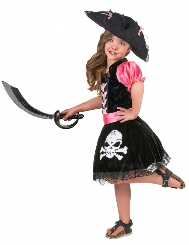 Girly piraten outfit voor meisjes-1