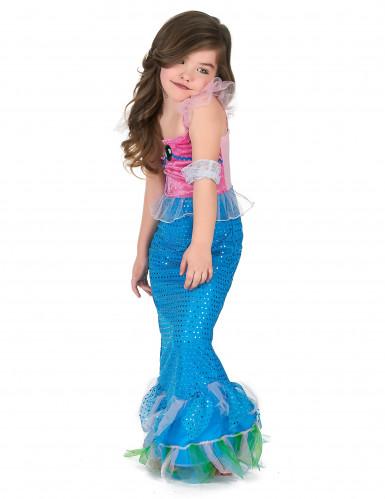 Zeemeermin jurk voor meisjes-1