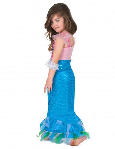 Zeemeermin jurk voor meisjes-2