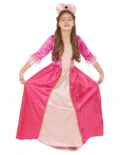 Roze prinses outfit voor meiden