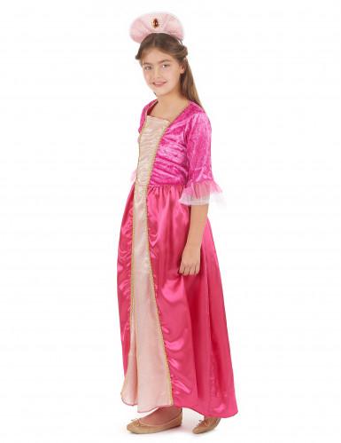 Roze prinses outfit voor meiden -1
