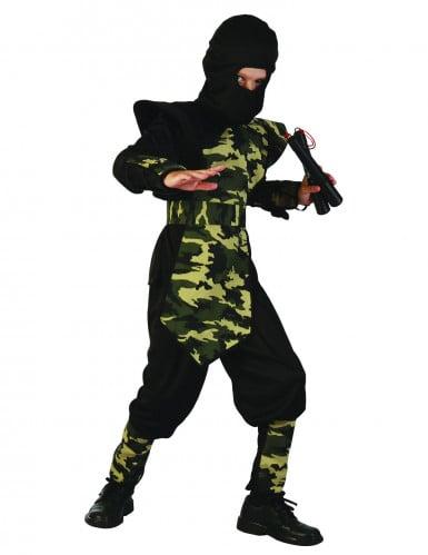 Ninja militair pak voor jongens