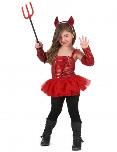 Rood duivel kostuum voor meisjes-1