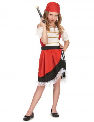 Piraten outfit voor meisjes