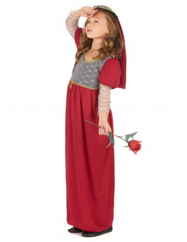 Middeleeuwse hofprinses outfit voor meisjes-1