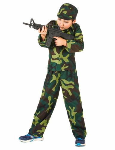 Militaire outfit voor jongens-1