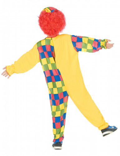 Veelkleurig clown kostuum voor kinderen-2