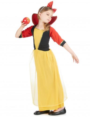 Sneeuwwitje jurk voor meisjes-1