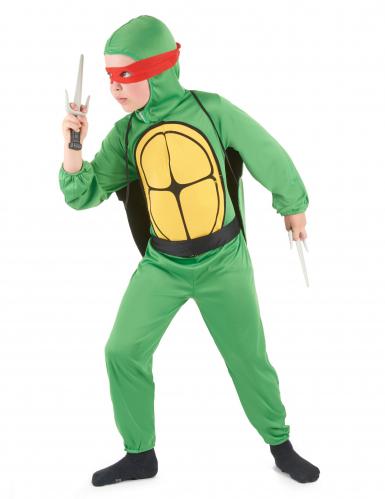Groene turtle kostuum voor kinderen-1