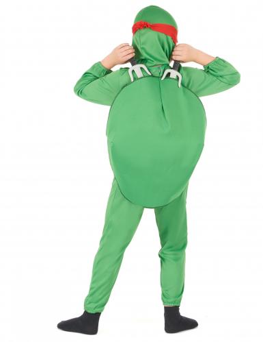 Groene turtle kostuum voor kinderen-2