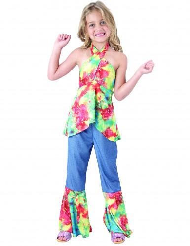 Kleurrijk Hippie kostuum voor meisjes