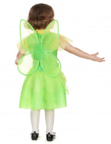 Groen fee prinses kostuum voor meisjes-2