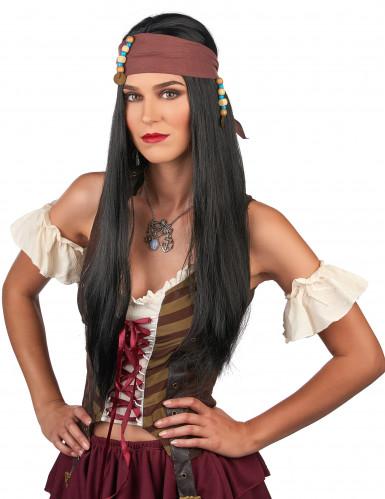 Piratenpruik voor heren-1