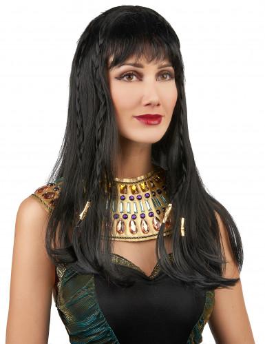 Egyptische koninginnenpruik voor dames