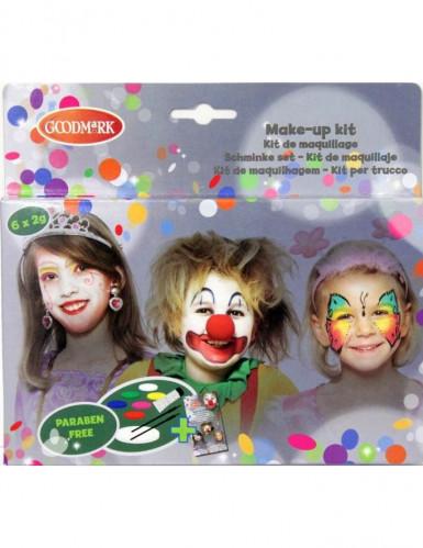 Schminkpalet meisjes 6 kleuren