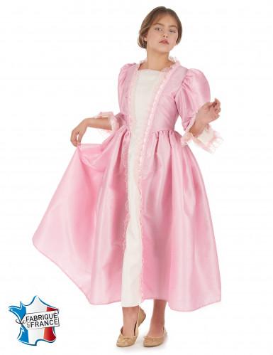 Roze markiezin pak voor meisjes