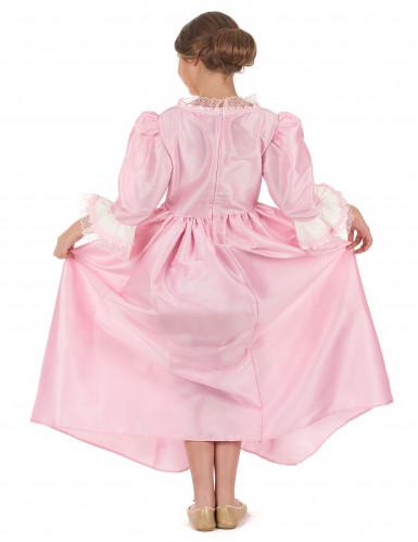 Roze markiezin pak voor meisjes-2