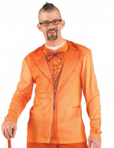 Oranje shirt voor volwassenen