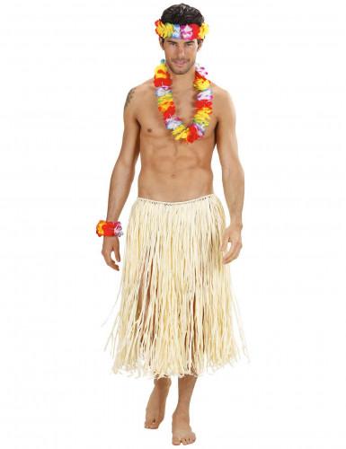 Luxe veelkleurig Hawaii set