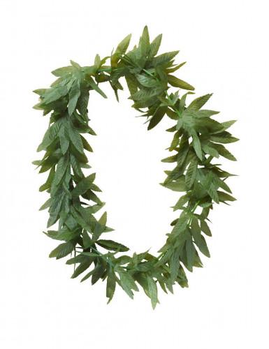Rasta cannabis bladeren ketting voor volwassenen-1