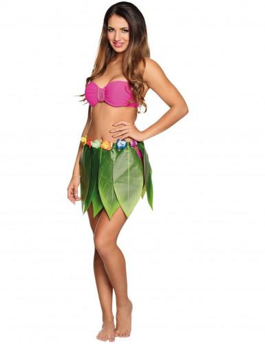 Hawaiiaanse bladeren rok voor volwassenen