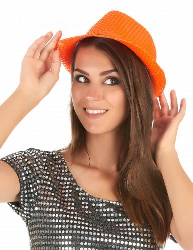 Popstar spangles glitter hoed-2