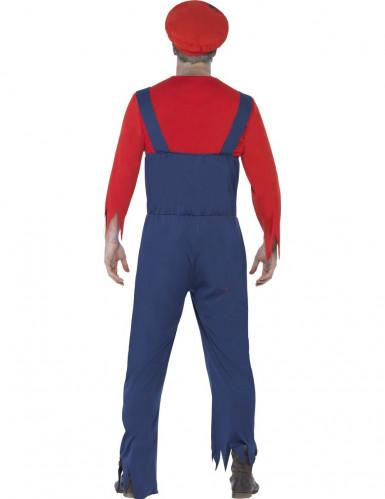 Verkleedkostuum zombie loodgieter voor heren Halloween kleding-2