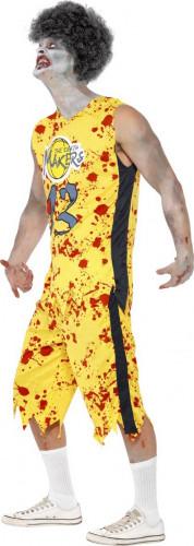 Zombie basketbal speler kostuum voor heren-1