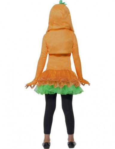 Verkleedkostuum voor meisjes pompoen met tutu Halloween kleding-2