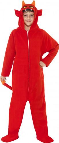Verkleedkostuum duivel voor kinderen Halloween pak