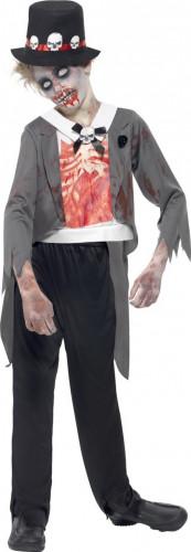 Zombie bruidegom kostuum voor jongens