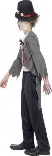 Zombie bruidegom kostuum voor jongens-1