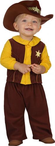 Cowboy kostuum voor baby's