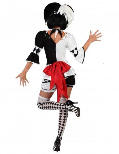 Grappig harlekijn kostuum voor vrouwen-1