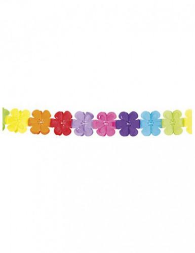 Kleurrijke bloemen slinger