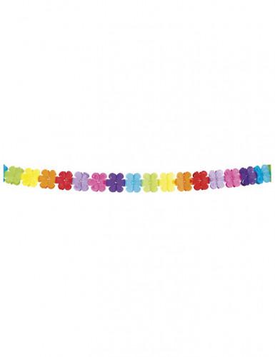 Kleurrijke bloemen slinger-1
