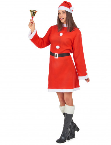 Kerstvrouw jurk voor dames-1