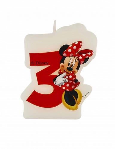 Minnie's Cafe™ verjaardagskaars 3 jaar