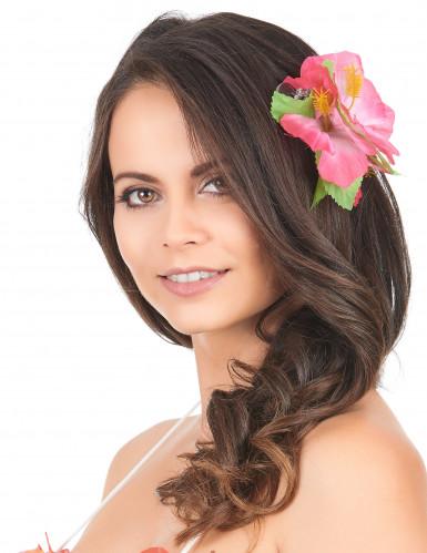 Roze hawaiiaanse haarspeld
