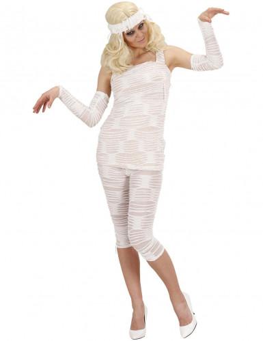 Halloween verkleedpak Mummie voor dames